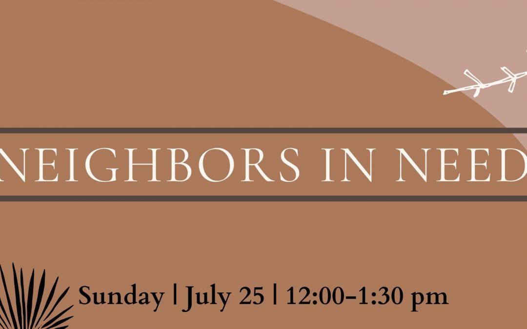Neighbors in Need | Workshop