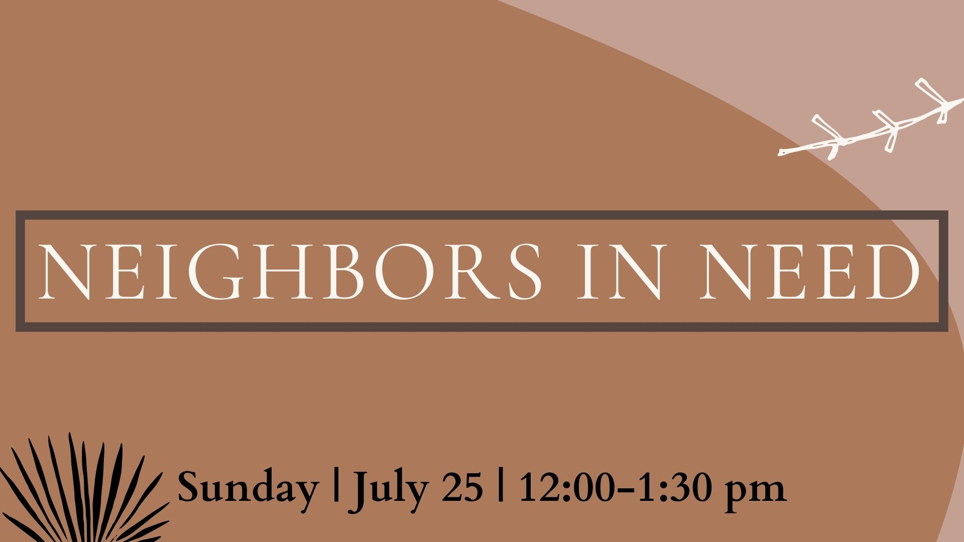 Neighbors in Need   Workshop
